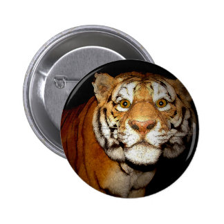 Tiger Tiger In The Night II Button