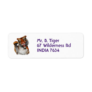 Tiger, Tiger Label