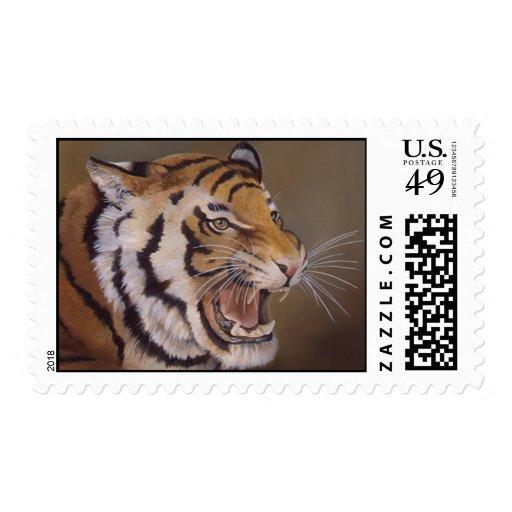 Tiger! Tiger! Postage Stamp