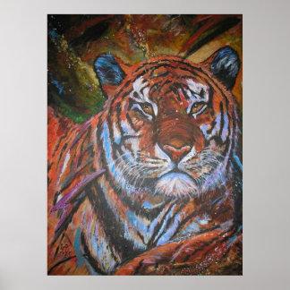 Tiger-tiger Poster
