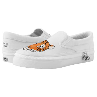 Tiger! Tiger!  Slip on Sneaker - simple white