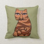 Tiger Tiger Throw Cushion Throw Pillows