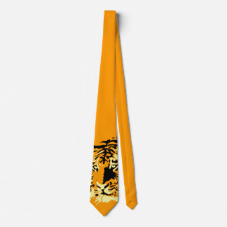 Tiger Tiger Tiger (orange!) Neck Tie