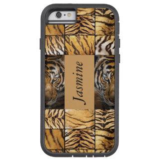 Tiger Tigers Tan Print cats Tough Xtreme iPhone 6 Case