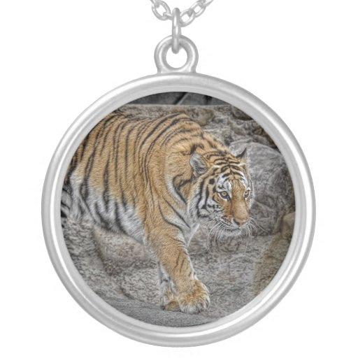Tiger Tight Walk Necklace