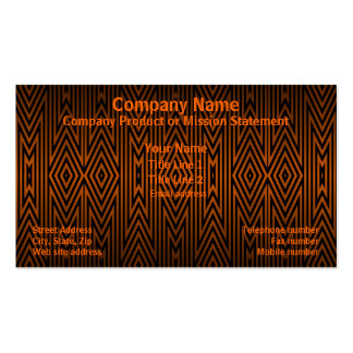 Tiger Tribal Pattern Double-Sided Standard Business Cards (Pack Of 100)