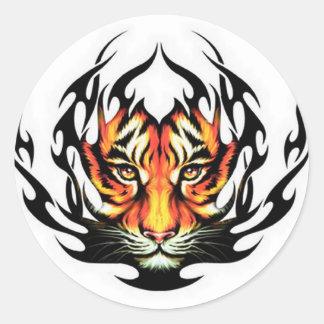 Tiger Tribal Sticker