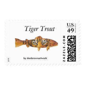 Tiger Trout stamp