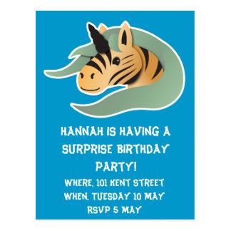 Tiger Unicorn cute! Postcards