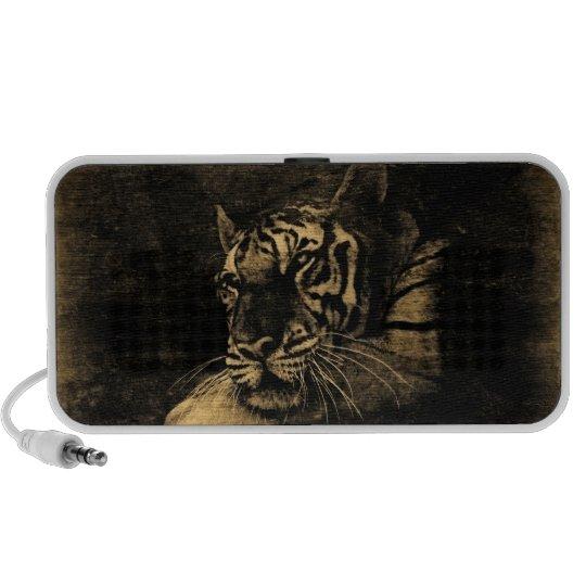 Tiger Vintage Doodle Speakers