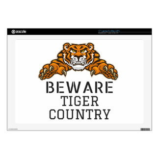 Tiger VINYL DEVICE SKIN PROTECTION Laptop Decals