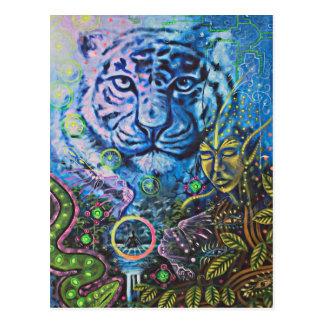 Tiger Vision Postcard