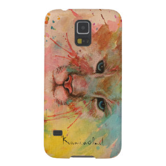 Tiger watercolor art pop paint painting picture galaxy s5 covers