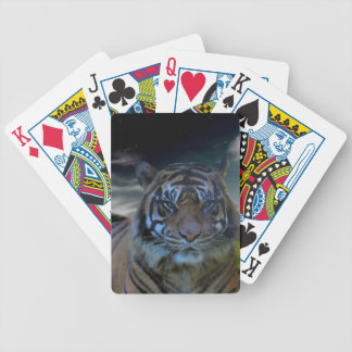 Tiger Watercolor Fantasy Bicycle® Playing Cards