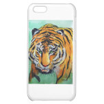 Tiger Watercolor iPhone 5C Covers