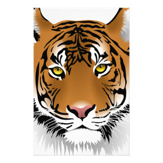 Tiger Wild Animal Stationery