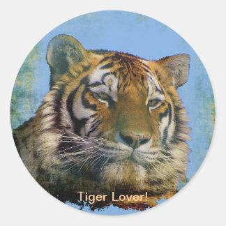 Tiger Wild-Cat Wildlife Artwork Stickers