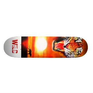 tiger, WILD Skate Deck