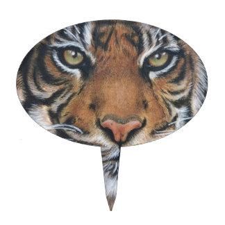 Tiger Wildlife Animal art Cake Topper