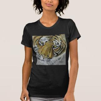 Tiger Wildlife Art Necklace Tshirts