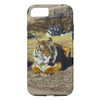 Tiger with a 'tude! iPhone 8/7 case