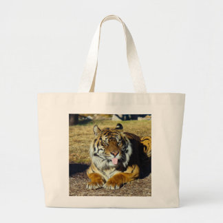 Tiger with a 'tude Tote