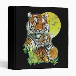 Tiger with Cub Binder
