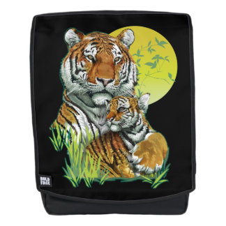 Tiger with Cub Boldface Backpack
