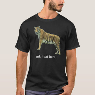 Tiger with your quote T-Shirt