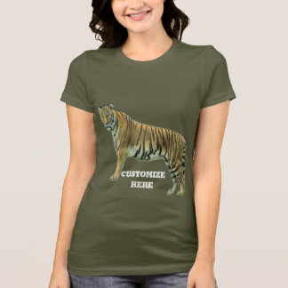 Tiger with your text T-Shirt