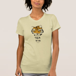 Tiger Within Womens T Tee Shirt