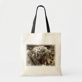 Tiger Yawn Tote Bag