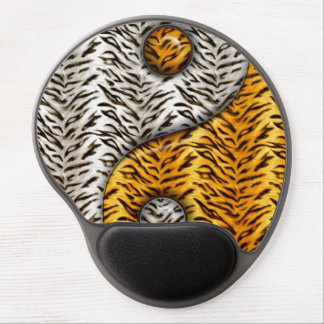 Tiger Yin Yang Gel Mouse Pad