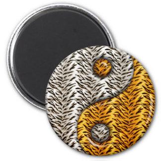 Tiger Yin Yang Magnet