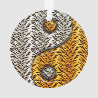 Tiger Yin Yang Ornament