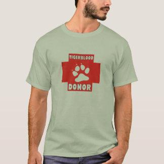 #TIGERBLOOD DONOR T T-Shirt