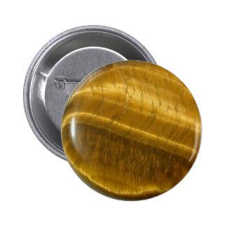 Tigereye (tiger's eye) disc pins