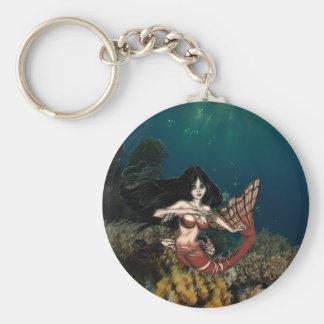 Tigerfish Mermaid by RyuNelo-artz Keychains
