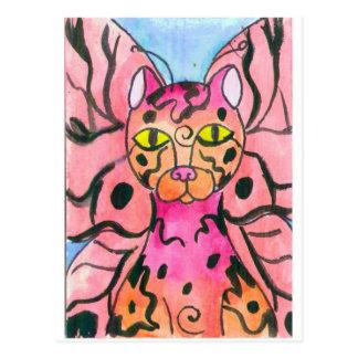 TigerFly Postcard