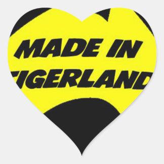 Tigerland Richmond Heart Sticker