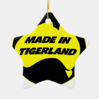 Tigerland Richmond Double-Sided Star Ceramic Christmas Ornament