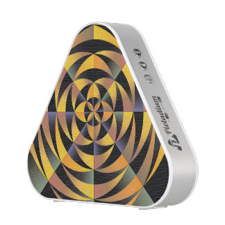Tigerlike geometric design bluetooth speaker