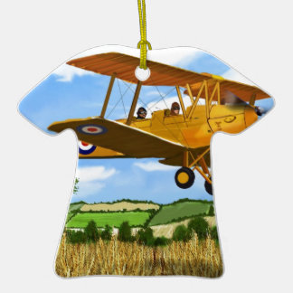 TIGERMOTH FIELDS Double-Sided T-Shirt CERAMIC CHRISTMAS ORNAMENT