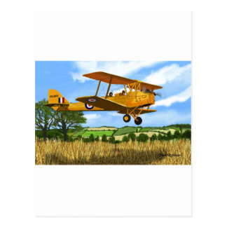 TIGERMOTH FIELDS POSTCARD