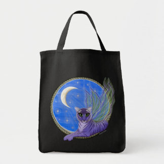 Tigerpixie Fairy Tiger Fantasy Cat Art Tote Bag