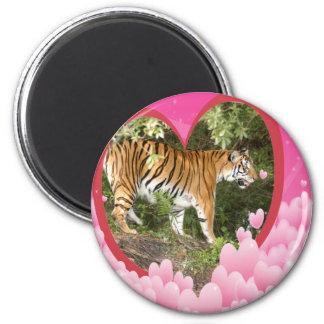 tigers-00131-85x85 2 inch round magnet