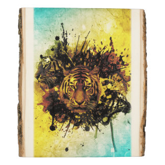 Tigers 3A Wooden Photo Panel