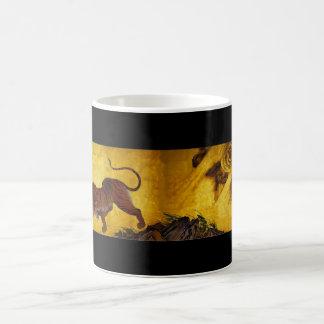 tigers and dragons kano sanraku classic white coffee mug