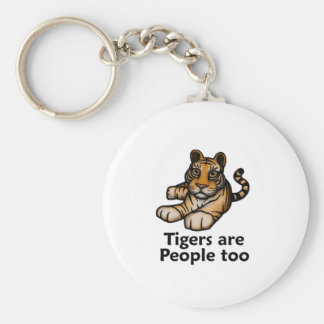 Tigers Are People Too Keychains