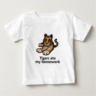Tigers Ate My Homework Baby T-Shirt